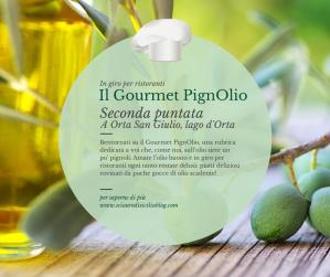 Il Gourmet PignOlio Orta San Giulio