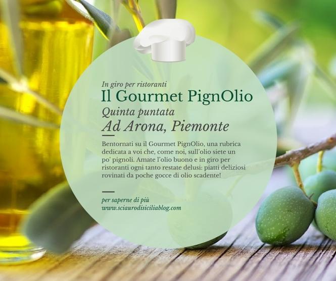 Il Gourmet PignOlio_5 puntata